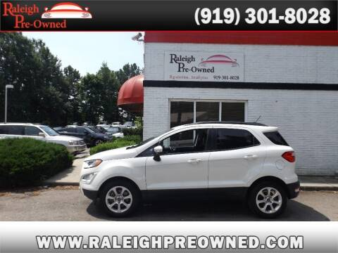 2018 Ford EcoSport for sale at Raleigh Pre-Owned in Raleigh NC
