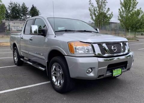 2011 Nissan Titan for sale at Sunset Auto Wholesale in Tacoma WA