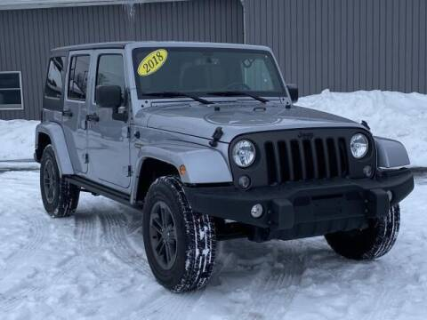 2018 Jeep Wrangler JK Unlimited for sale at Bankruptcy Auto Loans Now - powered by Semaj in Brighton MI