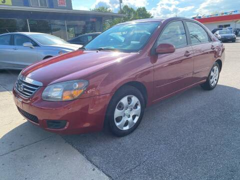 2009 Kia Spectra for sale at Wise Investments Auto Sales in Sellersburg IN