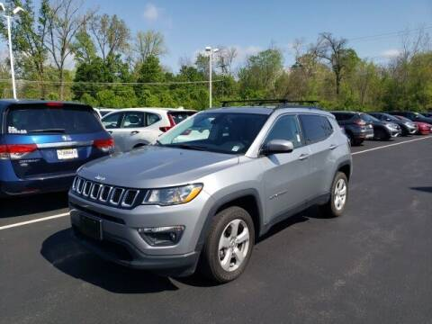 2018 Jeep Compass for sale at White's Honda Toyota of Lima in Lima OH