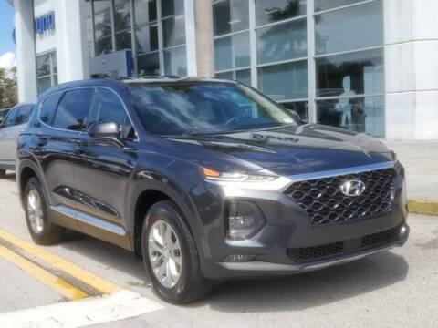 2020 Hyundai Santa Fe for sale at DORAL HYUNDAI in Doral FL
