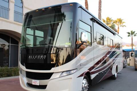 2017 Tiffin ALLEGRO w/ 3893 miles for sale at Rancho Santa Margarita RV in Rancho Santa Margarita CA
