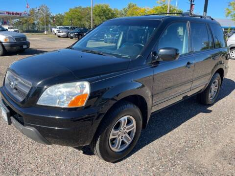 2005 Honda Pilot for sale at CHRISTIAN AUTO SALES in Anoka MN