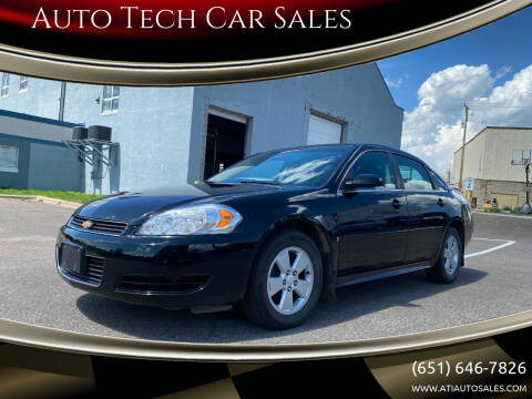 2009 Chevrolet Impala for sale at Auto Tech Car Sales in Saint Paul MN