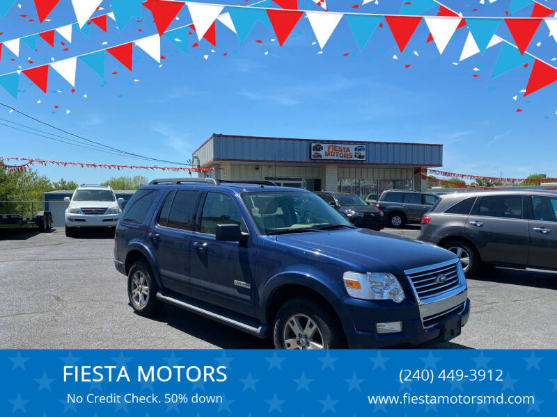2008 Ford Explorer for sale at FIESTA MOTORS in Hagerstown MD
