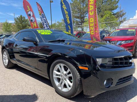 2013 Chevrolet Camaro for sale at Duke City Auto LLC in Gallup NM