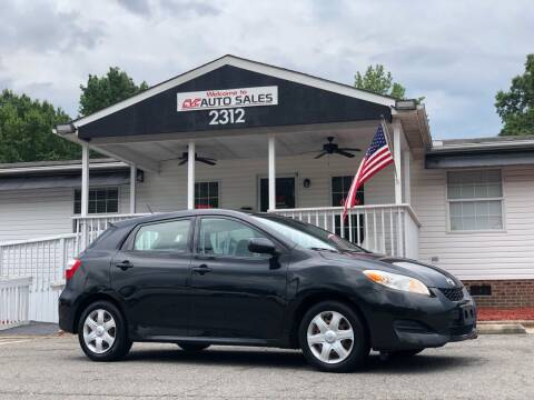 2009 Toyota Matrix for sale at CVC AUTO SALES in Durham NC
