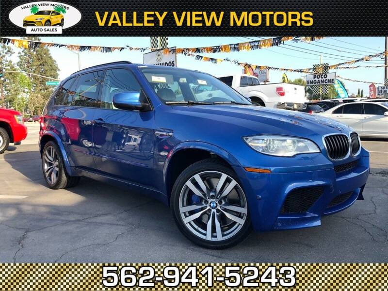 2013 BMW X5 M for sale at Valley View Motors in Whittier CA
