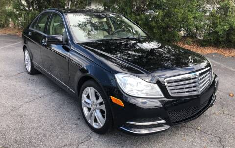 2013 Mercedes-Benz C-Class for sale at GOLD COAST IMPORT OUTLET in St Simons GA