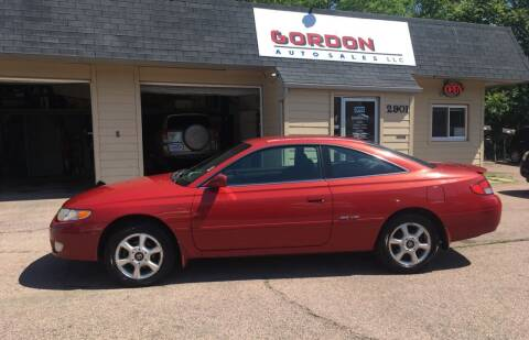2000 Toyota Camry Solara for sale at Gordon Auto Sales LLC in Sioux City IA