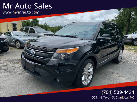 2012 Ford Explorer for sale at Mr Auto Sales in Charlotte NC