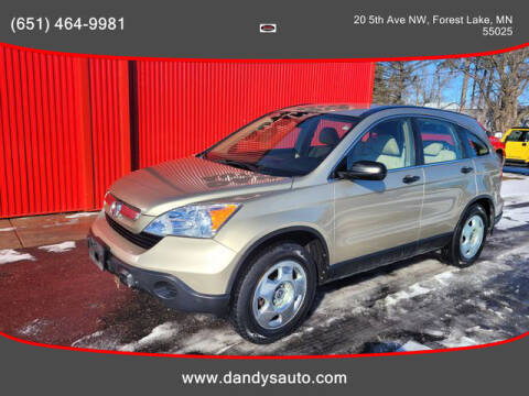 2009 Honda CR-V for sale at Dandy's Auto Sales in Forest Lake MN