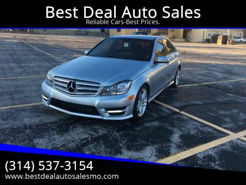 2013 Mercedes-Benz C-Class for sale at Best Deal Auto Sales in Saint Charles MO