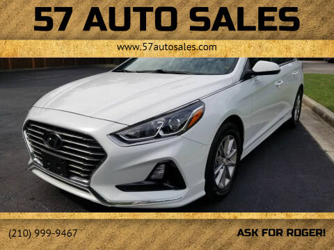 2019 Hyundai Sonata for sale at 57 Auto Sales in San Antonio TX