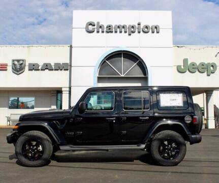 2021 Jeep Wrangler Unlimited for sale at Champion Chevrolet in Athens AL