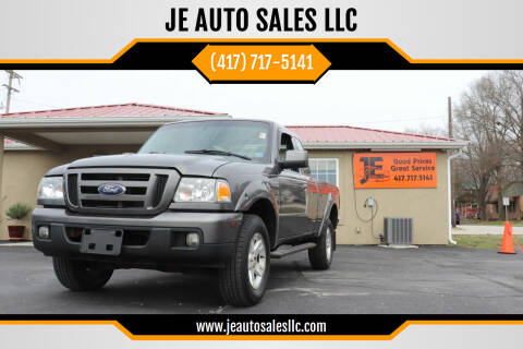 2006 Ford Ranger for sale at JE AUTO SALES LLC in Webb City MO