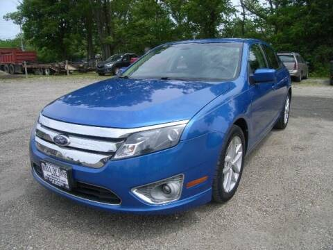 2012 Ford Fusion for sale at HALL OF FAME MOTORS in Rittman OH