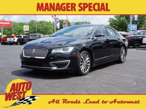 2018 Lincoln MKZ Hybrid for sale at Autowest of GR in Grand Rapids MI