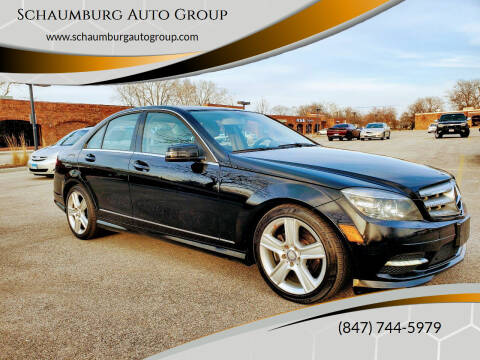 2011 Mercedes-Benz C-Class for sale at Schaumburg Auto Group in Schaumburg IL