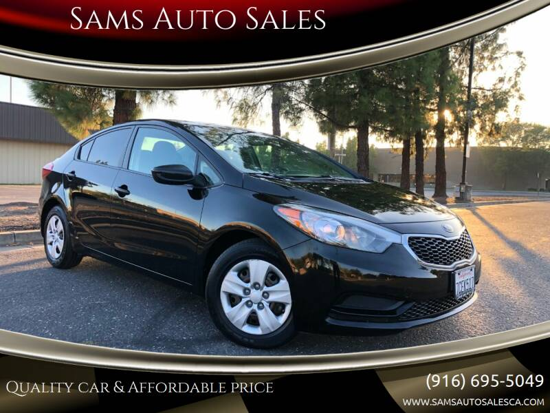 2014 Kia Forte for sale at Sams Auto Sales in North Highlands CA
