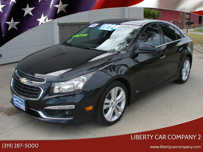 2015 Chevrolet Cruze for sale at Liberty Car Company - II in Waterloo IA