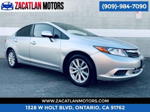 2012 Honda Civic for sale at Ontario Auto Square in Ontario CA
