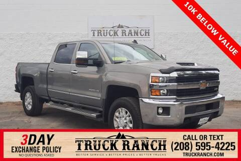 2017 Chevrolet Silverado 2500HD for sale at Truck Ranch in Twin Falls ID