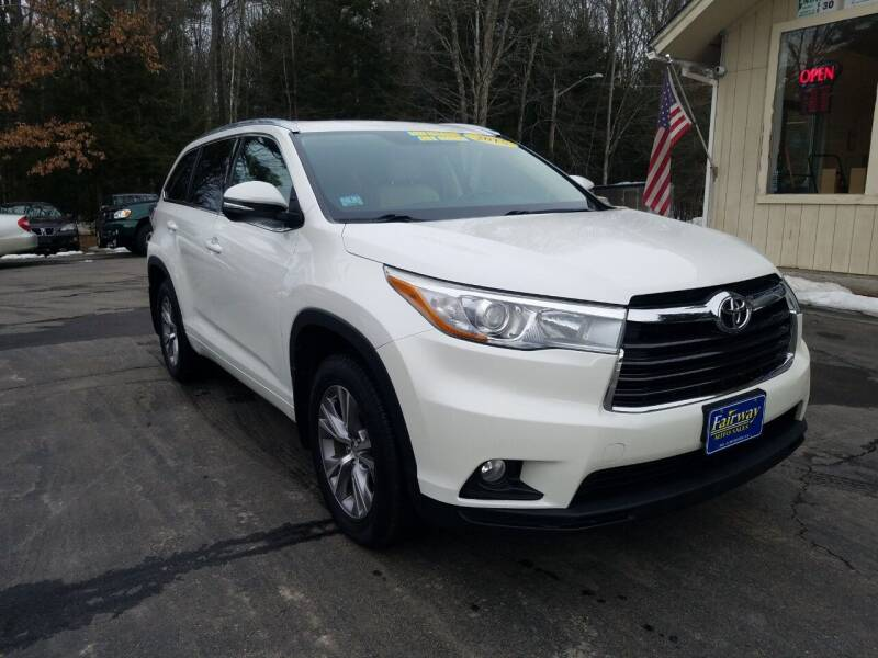 2015 Toyota Highlander for sale at Fairway Auto Sales in Rochester NH