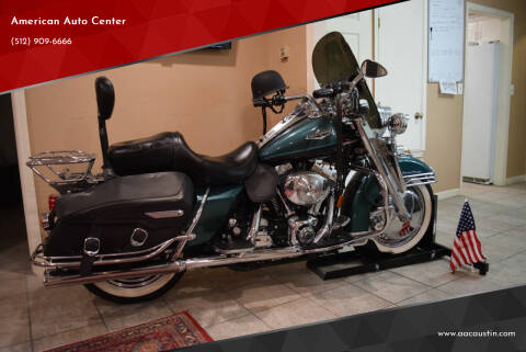 2000 Harley-Davidson Road King Classic CHROME  for sale at American Auto Center in Austin TX