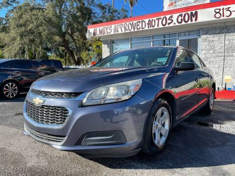 2014 Chevrolet Malibu for sale at Always Approved Autos in Tampa FL