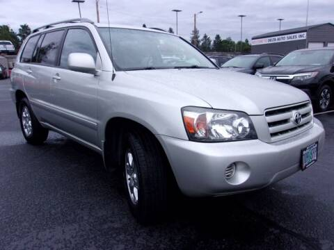 2006 Toyota Highlander for sale at Delta Auto Sales in Milwaukie OR