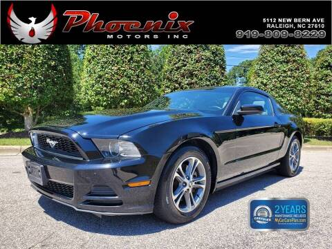 2013 Ford Mustang for sale at Phoenix Motors Inc in Raleigh NC