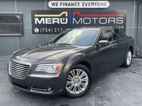 2013 Chrysler 300 for sale at Meru Motors in Hollywood FL