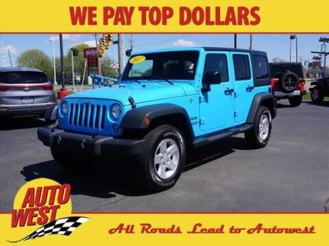 2017 Jeep Wrangler Unlimited for sale at Autowest Allegan in Allegan MI