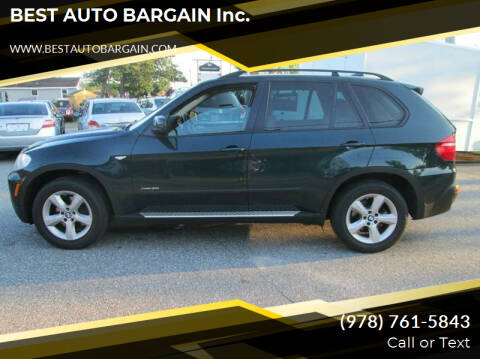2009 BMW X5 for sale at BEST AUTO BARGAIN inc. in Lowell MA