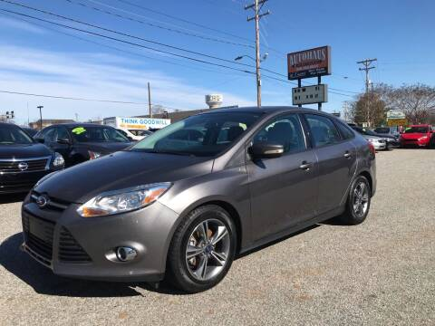 2014 Ford Focus for sale at Autohaus of Greensboro in Greensboro NC