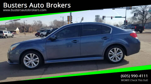 2013 Subaru Legacy for sale at Busters Auto Brokers in Mitchell SD