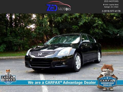 2011 Nissan Altima for sale at Zed Motors in Raleigh NC