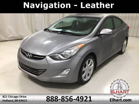 2013 Hyundai Elantra for sale at Elhart Automotive Campus in Holland MI