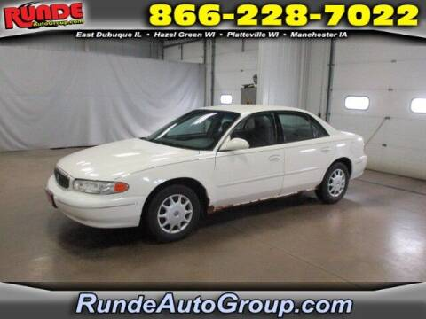 2003 Buick Century for sale at Runde PreDriven in Hazel Green WI