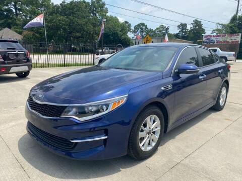 2018 Kia Optima for sale at Auto Land Of Texas in Cypress TX