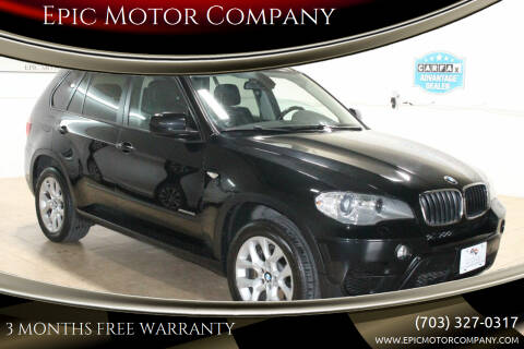 2012 BMW X5 for sale at Epic Motor Company in Chantilly VA