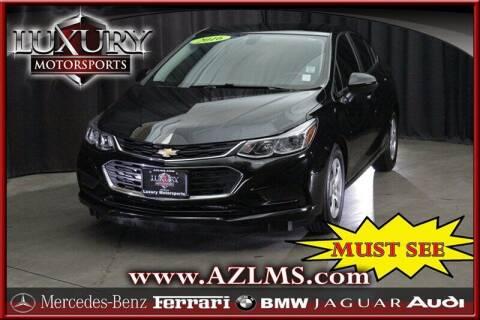 2016 Chevrolet Cruze for sale at Luxury Motorsports in Phoenix AZ