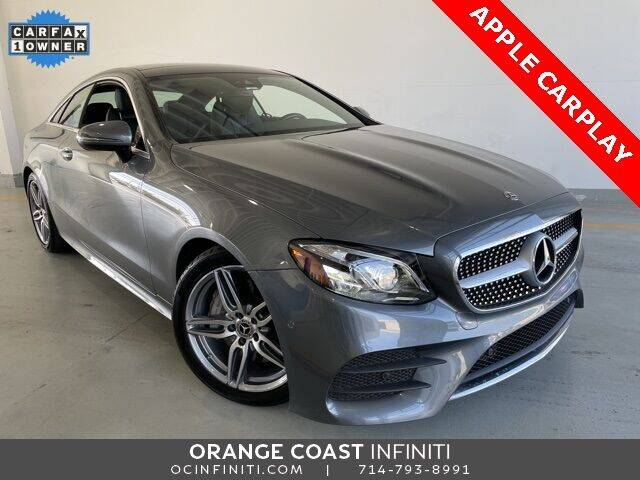 2018 Mercedes-Benz E-Class for sale at ORANGE COAST CARS in Westminster CA