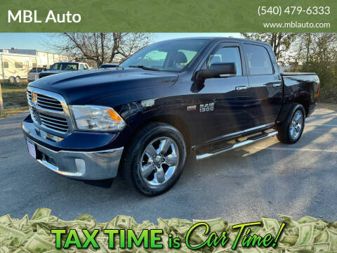 2014 RAM Ram Pickup 1500 for sale at MBL Auto in Fredericksburg VA