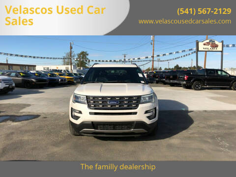 2016 Ford Explorer for sale at Velascos Used Car Sales in Hermiston OR