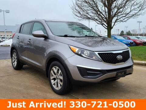 2015 Kia Sportage for sale at Ken Ganley Nissan in Medina OH