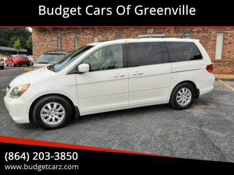 2010 Honda Odyssey for sale at Budget Cars Of Greenville in Greenville SC
