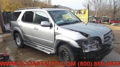 2003 Toyota Sequoia for sale at East Coast Auto Source Inc. in Bedford VA
